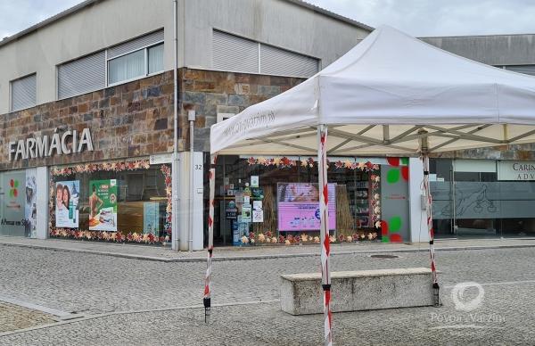 Apoio à população e às farmácias do concelho