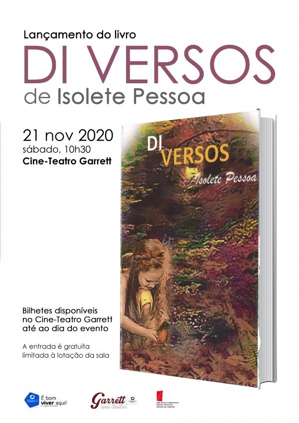 """Lançamento do livro """"Di Versos"""""""