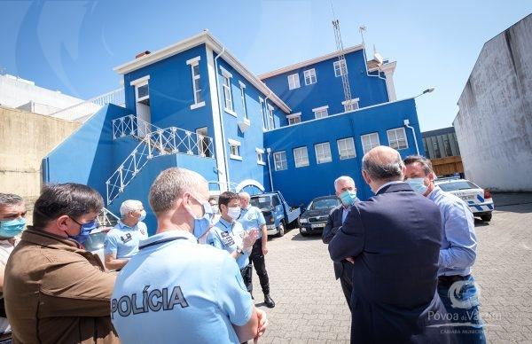 Município da Póvoa de Varzim e PSP unidos pela segurança dos poveiros