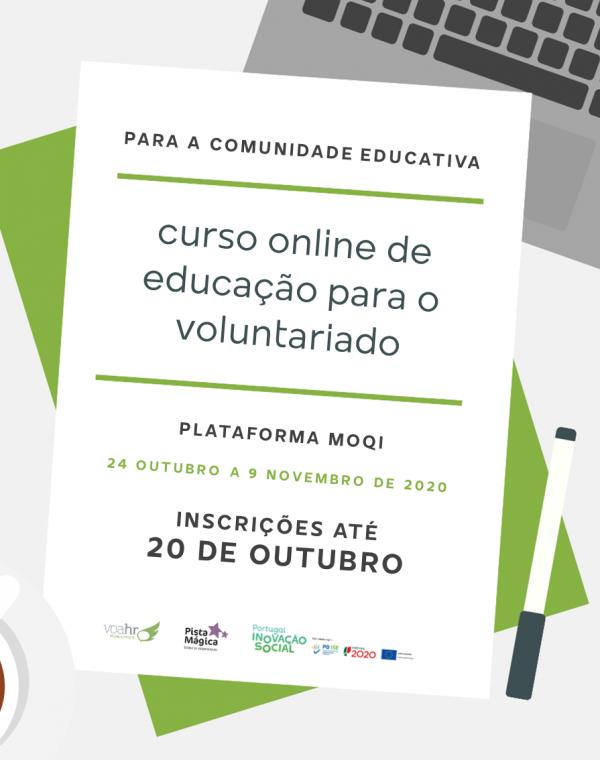 Curso Online de Educação para o Voluntariado