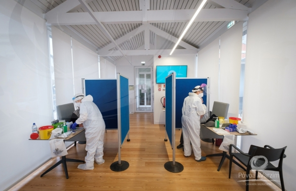 Vacinação no Centro Ocupacional da Lapa