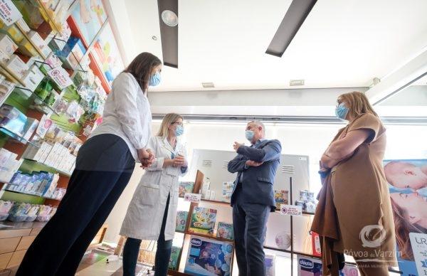 Município e farmácias de mãos dadas no apoio à população