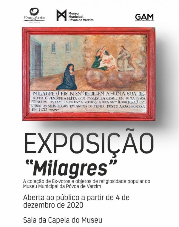 """Exposição """"Milagres"""" chega ao Museu Municipal"""