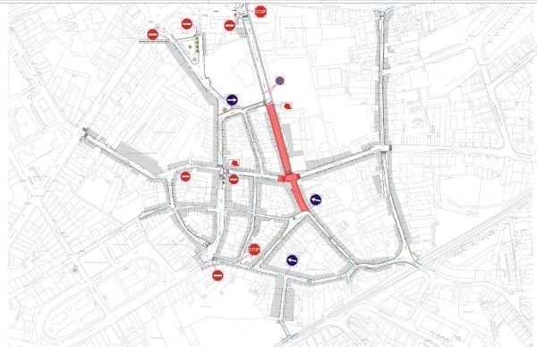 Requalificação do Bairro da Matriz: condicionalismos de trânsito