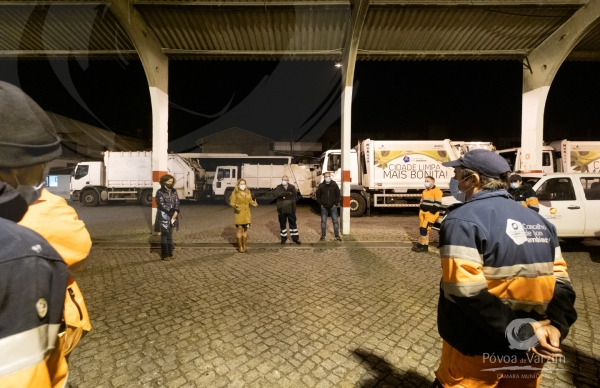 Município parceiro de empresas, associações e instituições locais na entrega de mais de 500 cabazes de natal