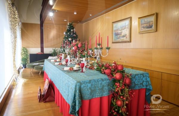 Exposição de Natal no Posto de Turismo