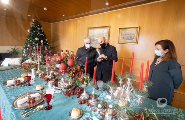 """Inauguração da exposição de Natal """"Art à Table"""""""