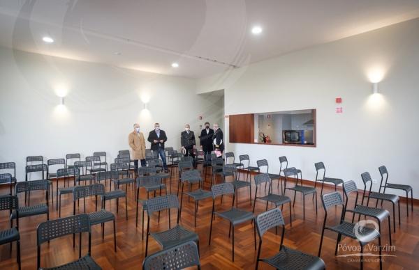 Inauguração do edifício-sede do Grupo Recreativo de Regufe e do Núcleo Museológico do Farol de Regufe