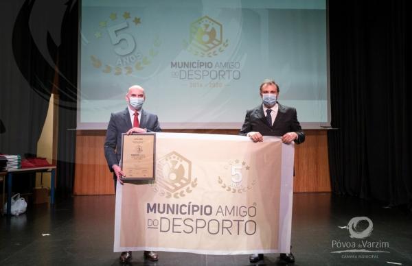 """""""Município Amigo do Desporto 2020"""": galardão entregue"""