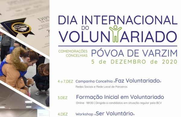Póvoa de Varzim assinala o Dia Internacional do Voluntário