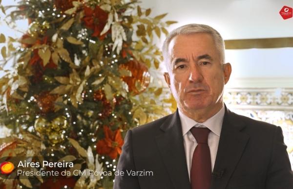 Presidente da Câmara deseja Boas Festas a todos os poveiros