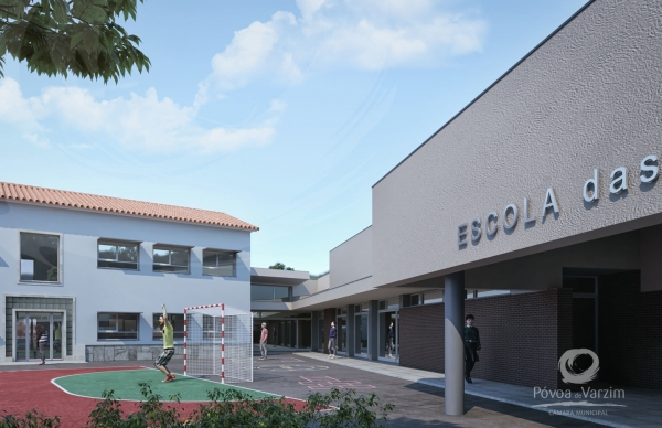 A nova Escola Básica das Machuqueiras