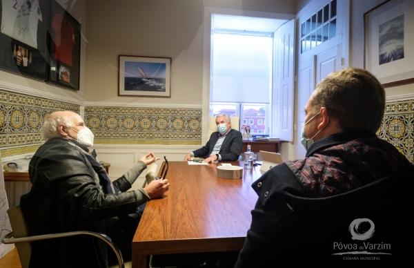Presidente da Câmara recebe Presidente da Associação Armadores da Pesca do Norte