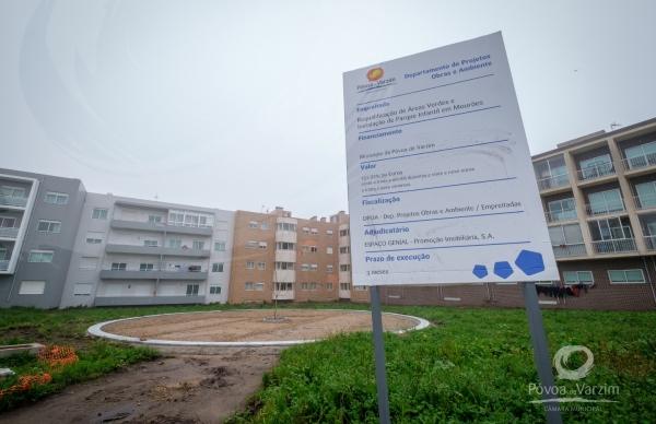 """""""Antes"""", """"durante"""" e """"depois"""" das três novas áreas que vão ser criadas na zona habitacional de Mourões"""