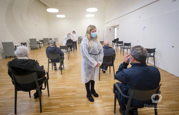 Centro de Vacinação COVID-19 arrancou hoje na Póvoa de Varzim