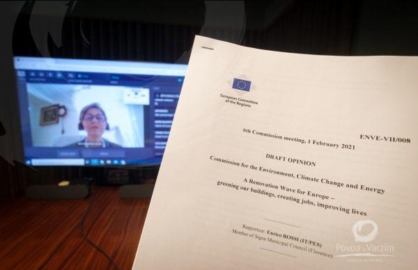 Debate entre municípios da União Europeia sobre meio ambiente