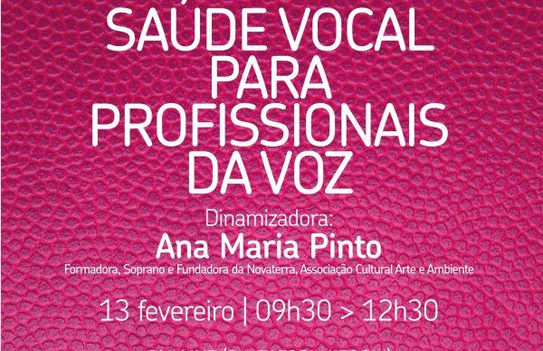 """Formação para professores: """"Saúde vocal para profissionais da voz"""""""