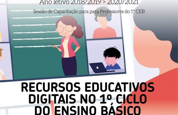 Município promove ação sobre Recursos Educativos Digitais no 1º Ciclo