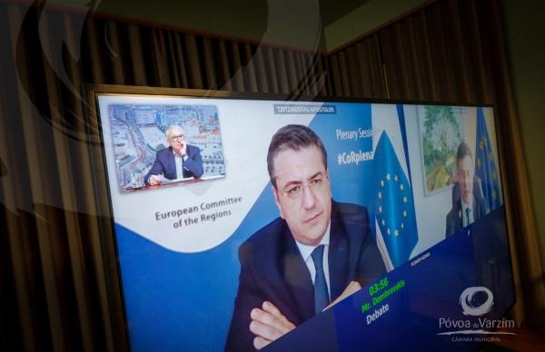 Aires Pereira apela à União Europeia mais fundos para as autarquias na fase pós-COVID