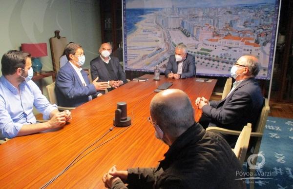 Presidente da Câmara recebe lista candidata à Associação Empresarial da Póvoa de Varzim