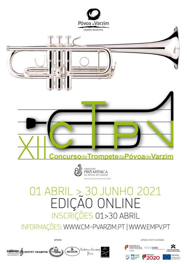 Inscrições abertas para o XII Concurso de Trompete