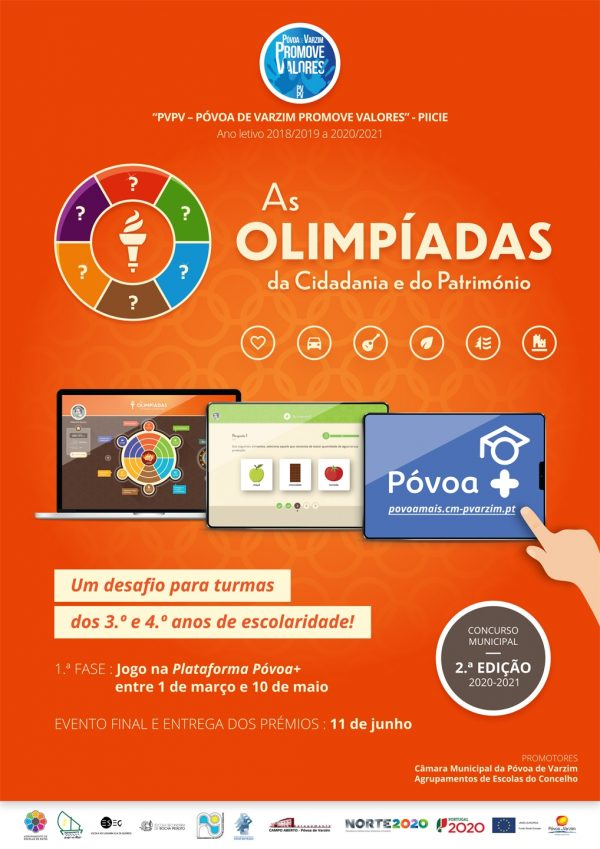 "Concurso ""Olimpíadas da Cidadania e do Património"""