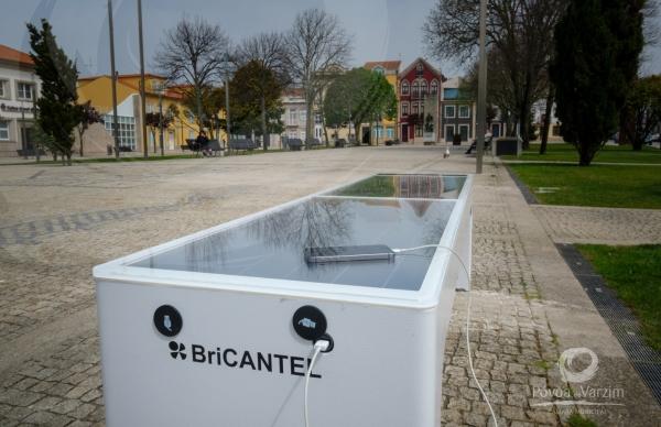 """Município mais sustentável e digital: novos bancos """"inteligentes"""" no centro da cidade"""