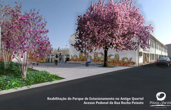 Parque de Estacionamento do ex-Quartel duplica capacidade de estacionamento