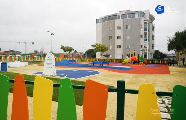 Abertura dos Parques Infantis de Mourões e da Avenida do Mar