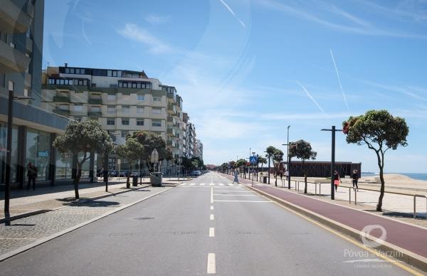 Marginal aberta ao trânsito ao fim-de-semana