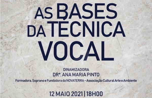 """Sessão de Capacitação """"As Bases da Técnica Vocal"""""""