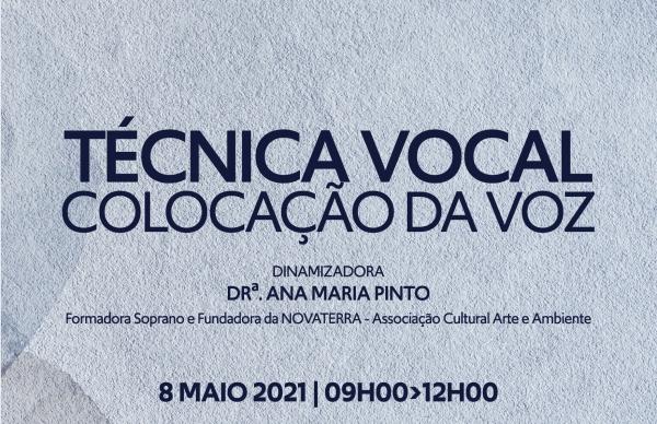 """Sessão de Capacitação """"Técnica Vocal - Colocação da Voz"""""""