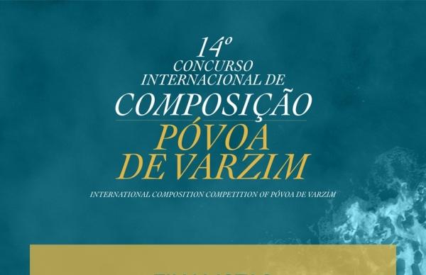 Anunciadas obras finalistas do Concurso Internacional de Composição da Póvoa de Varzim