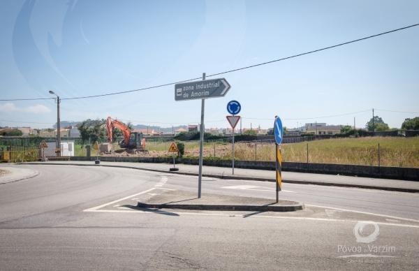 Câmara Municipal investe 400 mil euros na Zona Industrial de Amorim
