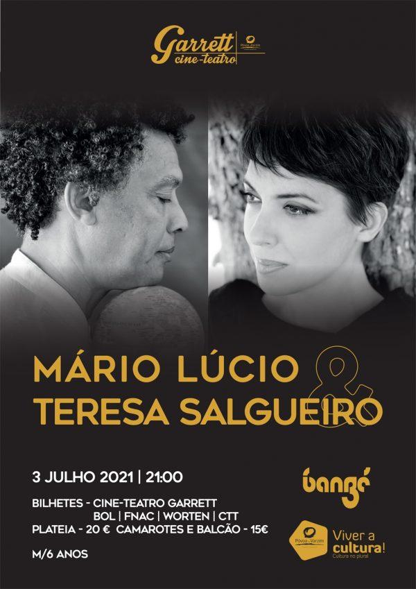 """""""Mário Lúcio & Teresa Salgueiro"""" no Cine-Teatro Garrett"""