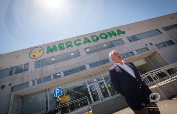 Mercadona em franco crescimento no Parque Industrial de Laúndos