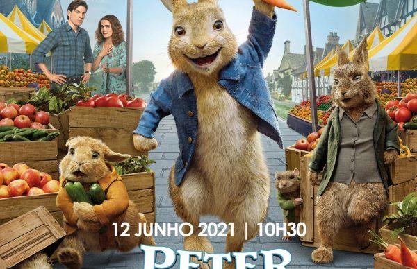 <em>Peter Rabbit, Coelho à Solta</em> no Cine Teatro Garrett a 12 de junho