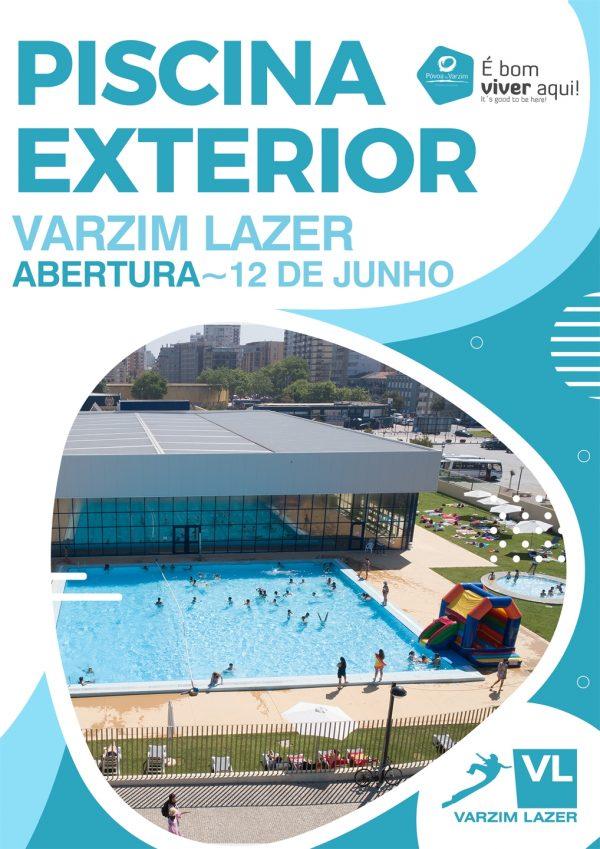 Piscina Exterior da Varzim Lazer abre a 12 de junho