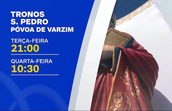 Tronos São Pedro 2021