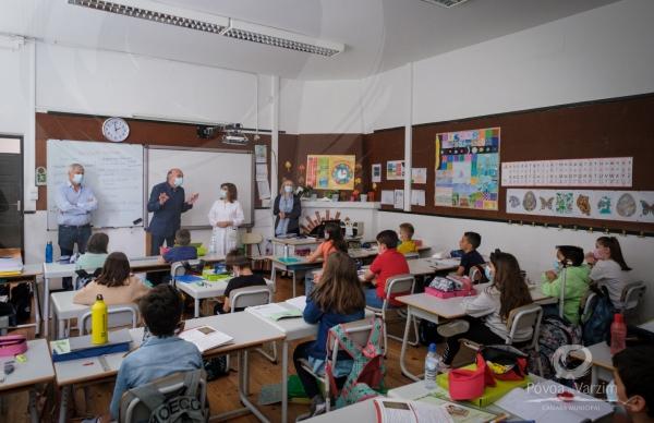 "Distinguidos alunos participantes das ""Olimpíadas da Cidadania e do Património"""