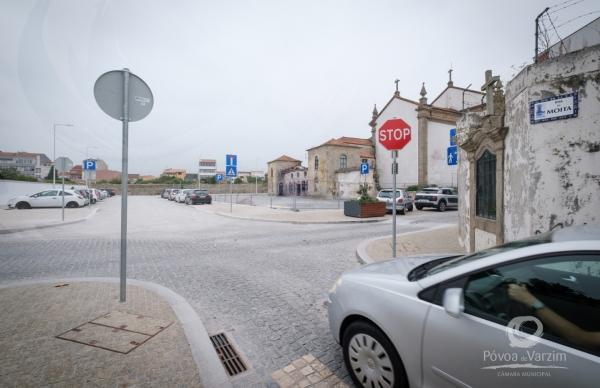 Abertura parcial da Rua Padre António Torres à circulação