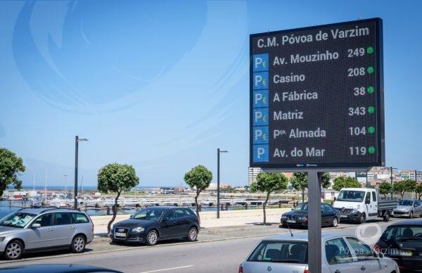 AVISO: Já pode consultar disponibilidade de estacionamento nos painéis informativos