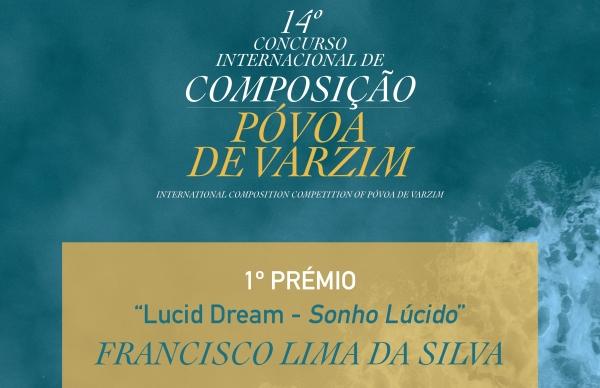 Conhecido vencedor do 14º Concurso Internacional de Composição da Póvoa de Varzim