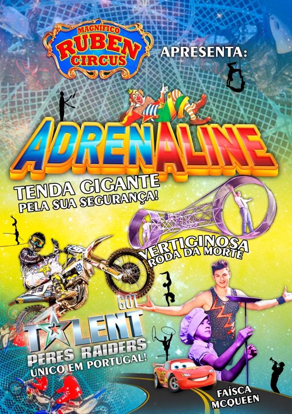 Magnífico Ruben Circus está na Póvoa de Varzim