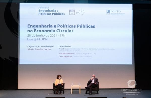 Presidente da Câmara discute economia circular na FEUP