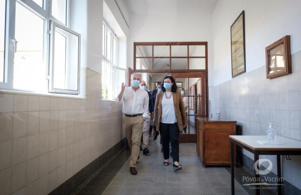 Visita Secretária de Estado da Educação à Escola Secundária Eça de Queirós