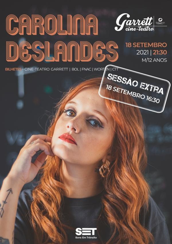 Carolina Deslandes marca segundo concerto na Póvoa