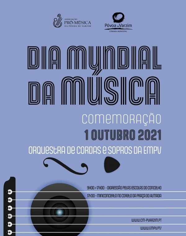 Dia Mundial da Música na Póvoa de Varzim