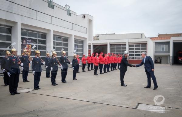 144º aniversário dos Bombeiros Voluntários da Póvoa de Varzim