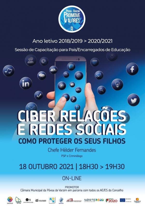 Ciber Relações e Redes Sociais: saiba como proteger os seus filhos